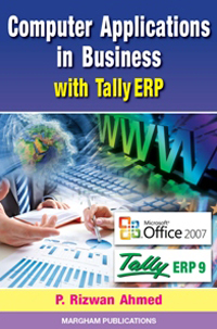 Computer Applications in Business with Tally ERP 9
